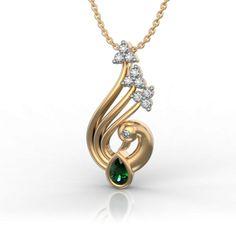 Pride of a Peacock Pendant