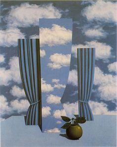 René Magritte. The beautiful world, 1960