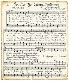 VintageFeedsacks: Christmas sheet music for crafts