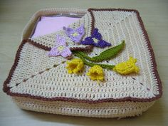 Crochet Table napkin holder