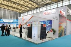 SUNRISE Shanghai, China,English Booth Design,The Changzhou trillion Sunshine Energy Technology Co., Ltd. Exhibition Hall Planning【Demage English Exhibition Company】
