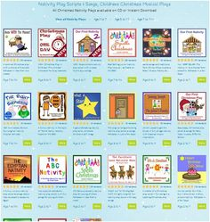 Nativity Play Scripts and Songs  - all available for Instant Download. Including editable, rhyming scripts, vocal tracks sung by children, professional backing tracks, PowerPoint Scenery, PowerPoint Songwords, sheet music, staging ideas, printables and much more. #nativity #nativity_play_script http://www.learn2soar.co.uk/christmas-nativity-play-script-songs