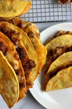 Tacos au poulet au four #dinnerrecipe #food #amazingrecipe #easyrecipe #bakedchickentacos