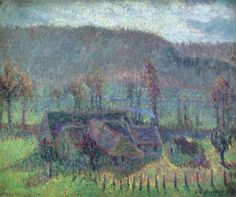 Valley Farm (Cottage in Giverny), 1907. Theodore Earl Butler, (1861–1936)