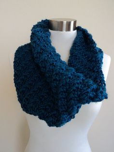 Diagonal Rib Cowl (long version)