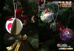 Xmas tutorial - Outro dia vi um enfeite de natal LINDO no Pinterest e facílimo de fazer e pensei: por que não? hehe Compartilhei na fanpage do blog e foi um sucesso e aí resolvi trazer para vocês hoje um tutorial de Bola...