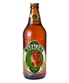 Cerveja Madalena Bohemian Pilsner, estilo Bohemian Pilsener, produzida por Cervejaria Premium Paulista, Brasil. 5% ABV de álcool.
