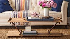 Pipe frame coffee table DIY