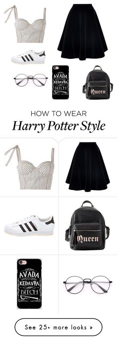 """""""ahusa"""" by explorer-15043975662 on Polyvore featuring Rosie Assoulin, N°21, adidas, Charlotte Russe and Samsung"""