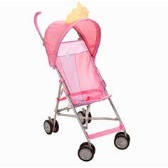 LOOK HOW CUTE Disney - Character Umbrella Stroller, Princess