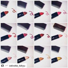 #celvoke new lipstick  #Repost @celvoke_tokyu (@get_repost)  . ディグニファイドリップス 大人気リップから11/1に新色12色が登場 . モードな雰囲気を醸し出すセンシュアルなダークカラー唇の色味を生かしながらシアーに色づくヌーディーカラーシルバーやゴールドのラメをふんだんに散りばめた品のある輝きを宿すカラーまで 絶妙なカラーバリエーションの12色です . 10/18(水)よりcelvoke東急東横店含む全国の取り扱い店舗にて予約開始致します . 今までのcelvokeにはなかった魅力的なカラーが満載です この機会に是非celvoke東急東横店へお立ち寄り下さいませ 皆様のご来店を心よりお待ちしております . 一部雑誌にて発売日に誤りがありましたことを訂正しお詫び申し上げます . #celvoke#秋コスメ#モテ色#ディグニファイドリップス#ブラウンリップ#赤リップ#ヌーディーリップ . . ご予約に関しての注意点 . こちらの製品は11/1(水)発売となります…