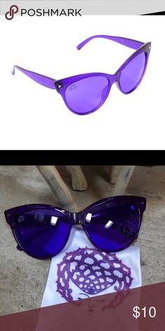 168d48afd996 Shop Women s Rainbow Optx size OS Sunglasses at a discounted price at  Poshmark. Description  Indigo cat-eye sunglasses by Rainbow Optx. Comes  with ...