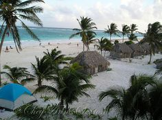 'the lookout'  as seen looking down on the beach from El Mirador. Taken on the Tulum Playa, Quintana Roo, Mexico, Jan 2007