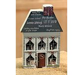 KP Creek Gifts - Winter Time Chunky House