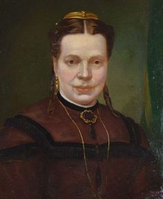 Unknown (19th century) - Portrait of a lady