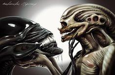 Alien Resurrection by AntarcticSpring on deviantart | via Mar Cantón (OcéanoMar)