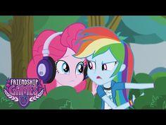 MLP : Equestria Girls - Friendship Games - Pinkie Spy (EXCLUSIVE Short) #2 - YouTube