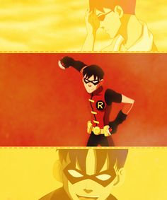 #YoungJustice Robin the First and the Greatest Troll on Earth 16!