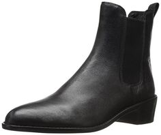 LOEFFLER RANDALL Women's Carmen Chelsea Boot, Black/Black, 7 M US *** Check out the image by visiting the link.