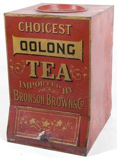 Old General Store Oolong Tea Bin