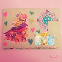 Für die liebe @penpals.austria   . . .  #happymail #snailmail #snailmailideas#mailart#sendmoremail #penpalsaroundtheworld#penpals#snailmailrevival #letter #penpal #stationery#snailmail#washitape #penpalswanted #kawaii #letter#girl#cute #vintage #pink #girly  #filofax #filofaxing #flipbook by penpallove
