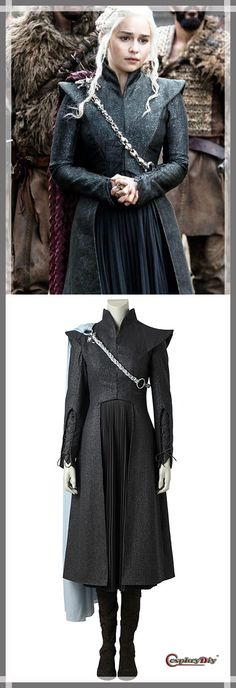 Game of Thrones Season 7 Daenerys Targaryen Costume Women's Halloween Party Cosplay Costume