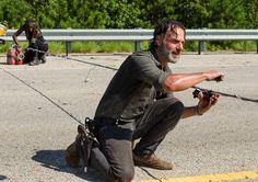 """Rick. The Walking Dead S07 E09 """"Rock in the Road."""" Season 7, Episode 9."""