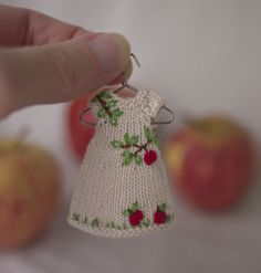 I could see this as Christmas ornament instead of the sweater
