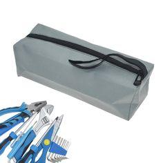 1x Wasserfest Oxford Stoff Werkzeugtasche Beutel Reissverschluss Tasche 19x11cm