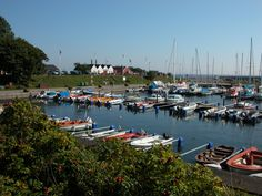 A quaint harbour in Smygehamn, Skåne.