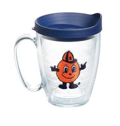 Collegiate N-Z Syracuse Otto Mug with Lid