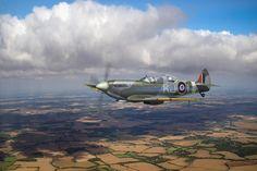 FLIGHT ARTWORKS | Spitfire TR 9 SM520 art prints and canvas prints