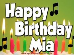 Top10 Frases de Amor birthday-6 Happy birthday Mia! ARTICLES IN ENGLISH Birthday  weekend web content nice love phrases love site Love quotes Happy birthday Mia! gma friendship phrases content in english birthday best friends