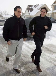 Craig and Mitt Romney