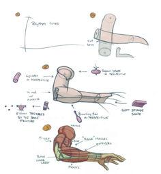 Arm tutorial, by foervraengd on tumblr.com