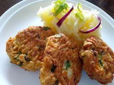 Mashed Potatoes, Tandoori Chicken, Tofu, Food And Drink, Veggies, Ethnic Recipes, Kitchen, Fit, Whipped Potatoes
