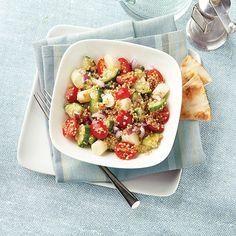 Smoked Mozzarella and Quinoa Salad | Recipes | Weight Watchers