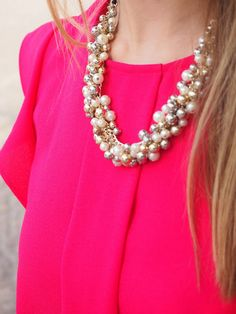 Statement necklace by Zara
