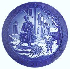 ROYAL COPENHAGEN 2014 Christmas Plate – Hans Christian Andersen - NEW IN BOX!