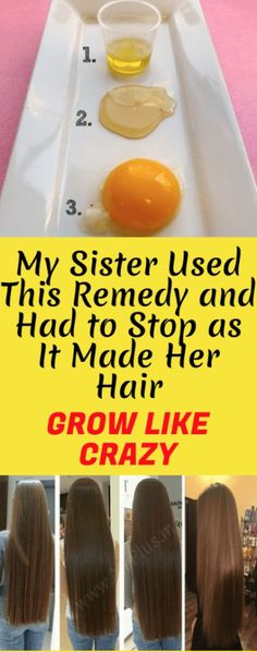 My Sister Used This Remedy And Had To Stop as it Made Her Hair Grow Like Crazy! [Instruction Included] – Toned Chick