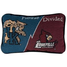 House Divided Pillow
