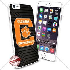 "NCAA Clemson Tigers iPhone 6 4.7"" Case Cover Protector for iPhone 6 TPU Rubber Case White SHUMMA http://www.amazon.com/dp/B0176HIZI8/ref=cm_sw_r_pi_dp_20NRwb15AWAVH"