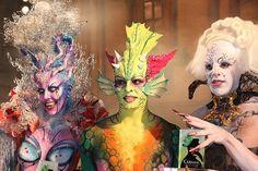 Concurso Maquillaje Corporal Carnaval 2013 Las Palmas de Gran Canaria.