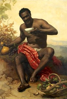 Artwork: Joseph, le nègre by Adolphe Brune, French African American Art, African Art, Goldscheider, Joseph, Black Art Pictures, Black Artwork, Arte Popular, Old Paintings, Classical Art