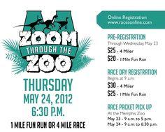 memphis zoo 4 mile run!! Glad to sponsor this fantastic race! #memrun
