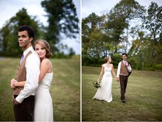 Forget the Harry Potter wedding inspiration.  I just love that photo on the left.  I want a shot like that.