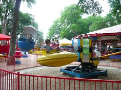 Established in 1925, Kiddie Park claims to be the oldest amusement park in the U.S. - a cozy little time warp nestled in a shady corner of the modern world
