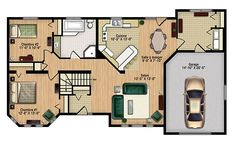 Pre-engineered home Innovation, Bonneville, Garage, Multi Family Homes, House Layouts, Design Process, Custom Homes, Creative Design, Building A House