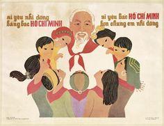 Qui aime autant les enfants que le président Ho Chi Minh, qui aime autant le président Ho Chi Minh que les enfants, 1980