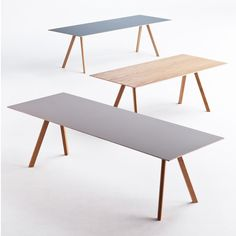 The Copenhague Dining Table was designed in the year 2013 by the brothers Erwan & Ronan Bouroullec for HAY. The Copenhague Dining Table is Modern Furniture, Home Furniture, Furniture Design, Dinning Table, Table And Chairs, Dining Room, Table Desk, Hay Design, Design Tisch